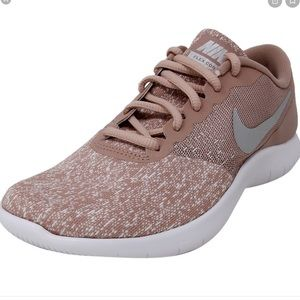NIKE Women's Flex Contact Shoes Particle Pink